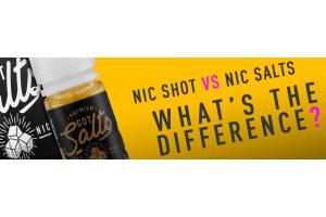 Nicotine Salts Vs Nicotine Shots