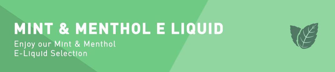Mint & Menthol Flavour E-Liquid