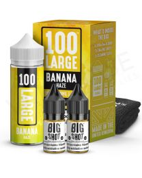 Banana Haze E-Liquid by 100 Large