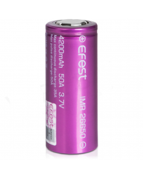 Efest IMR 26650 4200mah 50A Rechargeable Vape Battery