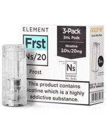 NS20 Frost E-Liquid Pod by Element 3x2ml